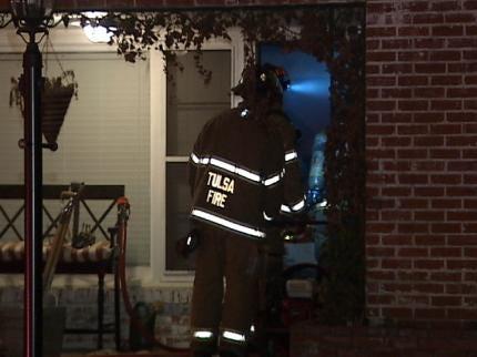 Dog Wakes Tulsa Homeowner During Fire
