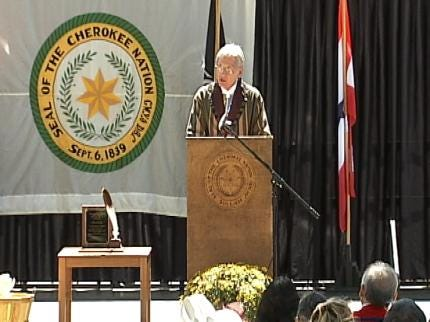 Principal Chief Delivers Cherokee Nation State Of The Union Address