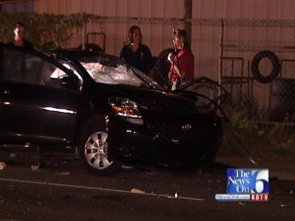 Teenage Girl Killed In Tulsa Two-Car Collision