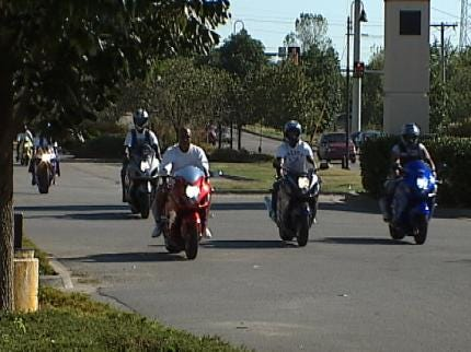 Bikers Rally Support In Tulsa For Susan G. Komen Race For The Cure