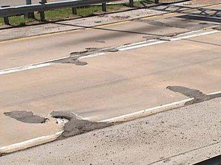 Report: Oklahoma Roads Worsen To 37th In Nation