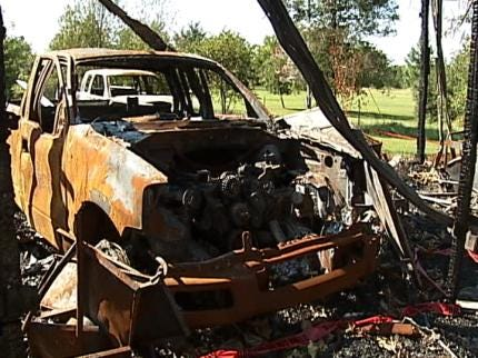 Wagoner County Man Says Defective Lawnmower Caused Fire