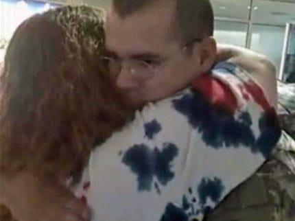 Oklahoma Soldier Returns To Tulsa From Iraq