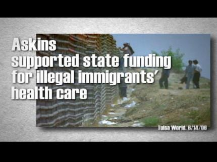 Campaign Ad Targets Jari Askins For Stance On Illegal Immigration