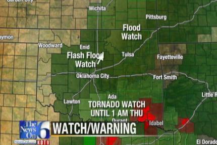 Hermine Remnants Bring Heavy Rain, Tornado To Oklahoma