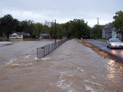 Heavy Rains Flood Several Eastern Oklahoma Communities And Counties
