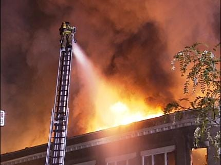 Suspect In Bartlesville Downtown Building Fire Returned To Oklahoma