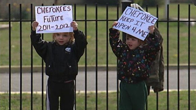 Parents, Kids Protest District's Proposal To Close Tulsa Elementary School