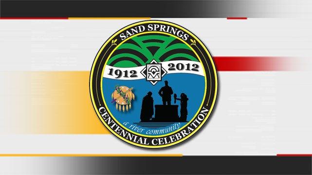 Teen's Design Chosen As Sand Springs Centennial Logo