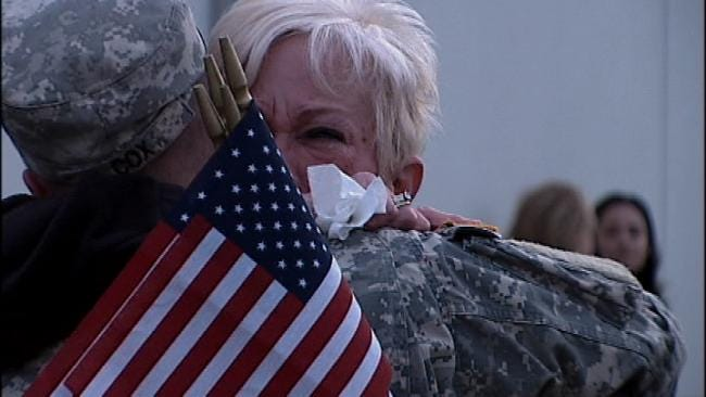 Lawmakers Honor Oklahoma Soldiers Set To Deploy
