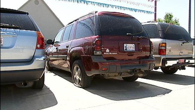 More Vandalized Vehicles Pop Up In Bixby
