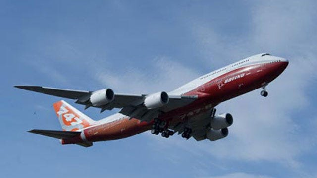 Tulsa International Airport's Runway Can Handle Boeing's New 747-800 Aircraft