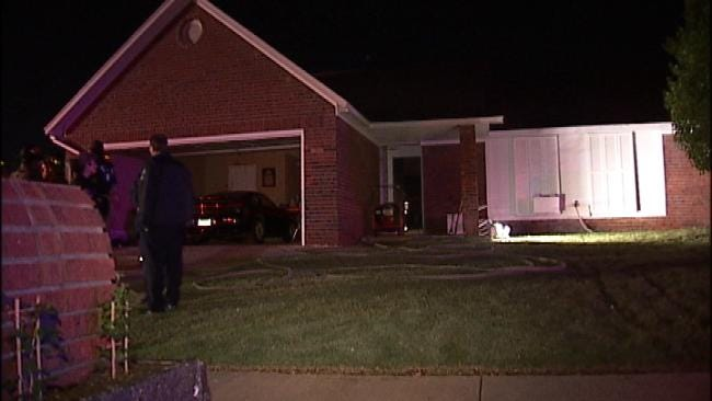 Tulsa Man Taken To Hospital After House Fire