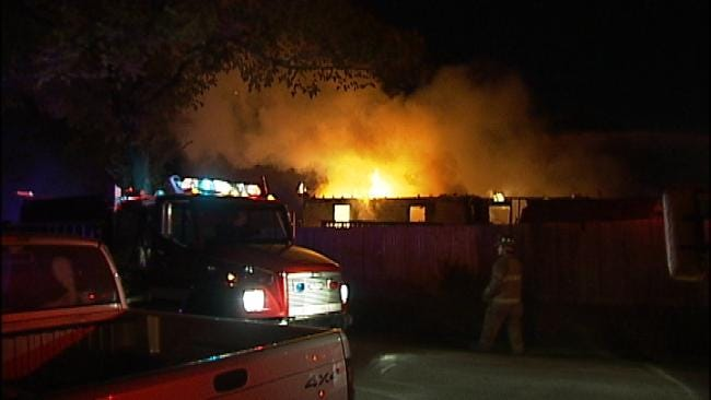 Dryer Blamed For Fire That Destroyed West Tulsa Home