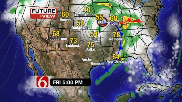 After Thursday's Severe Weather, Friday Brings Blustery Winds To Northeast Oklahoma