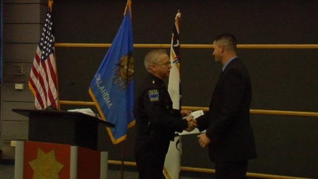 Eleven Tulsa Police Officers Promoted To Rank Of Sergeant