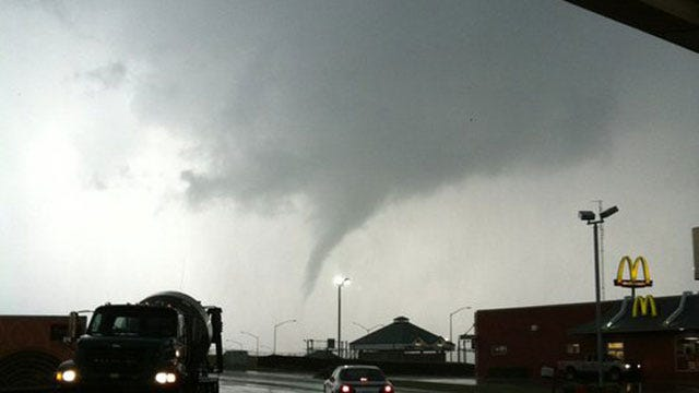 Governor Declares State Of Emergency After Tornadoes Tear Through Oklahoma Communities