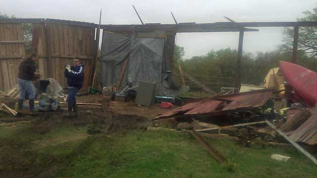 Washington County Ranch Damaged By Severe Storm