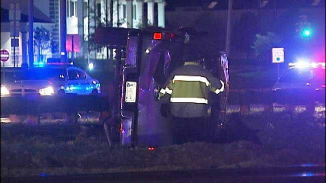 Man Killed In Fiery High Speed Crash In Southeast Tulsa