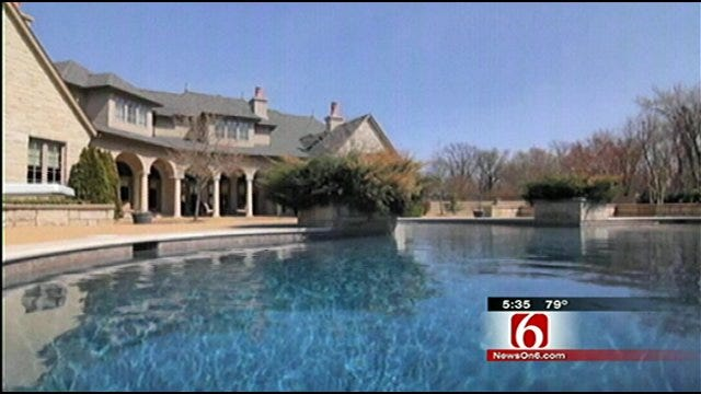 Convicted Fraudster's Tulsa Mansion Goes On The Auction Block