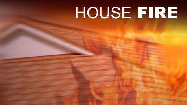 Fire Destroys Family's Tornado-Damaged Home In Tushka