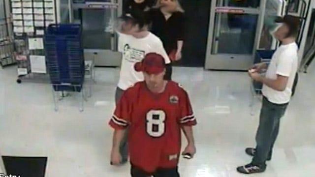 Tulsa Police Hope To ID Car Key Thief