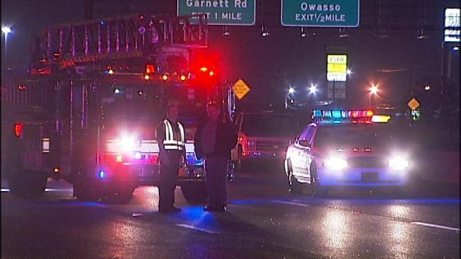 Five-Car Crash On Broken Arrow Expressway Hurts Four