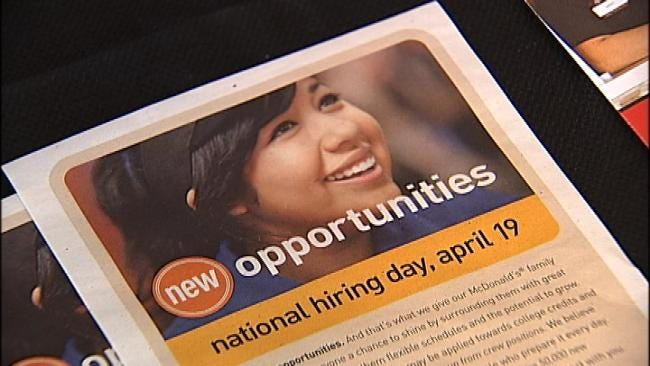 McDonald's Holds National Hiring Day Tuesday