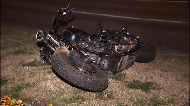 Tulsa Motorcyclist Injured In Alleged DUI Crash
