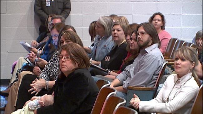 Tulsa Parents, Students Make Final Plea To Save Schools