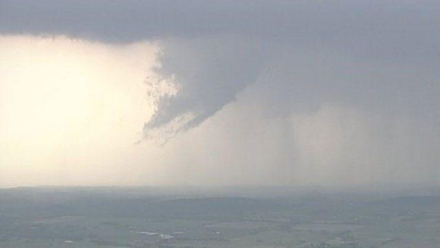 Tornadoes Confirmed In Oklahoma, Arkansas