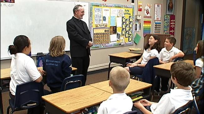 Tulsa Monsignor Gregory Gier Honored With Distinguished Pastor Award