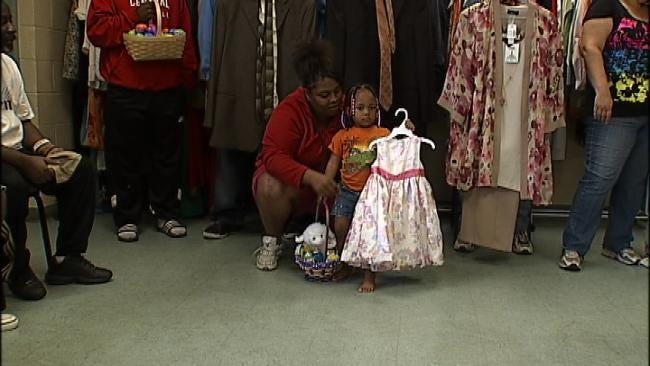 New Clothes Give Tulsa Homeless Hope