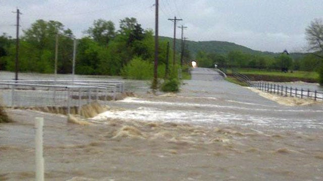 Muskogee Police Say Entire City May Be Affected By Flooding