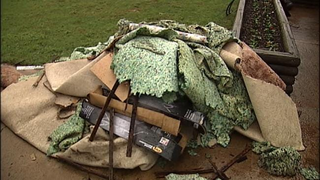 Cherokee County Residents Clean Up After Damaging Flood