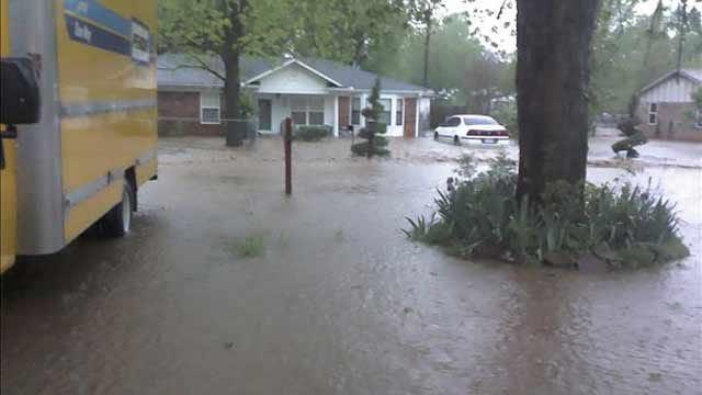 Heavy Rains Drench Parts Of Eastern Oklahoma