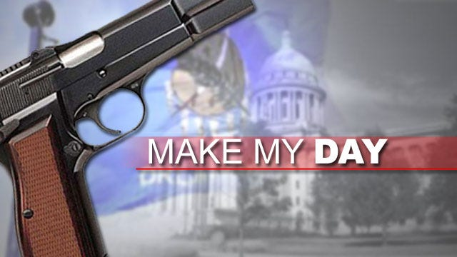 Oklahoma's 'Make My Day' Law Expands To Businesses