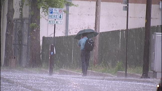 Rain To Linger In Eastern Oklahoma Through Wednesday