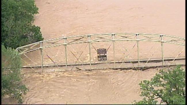 SkyNews6 Shows Devastation Of Illinois River Flooding