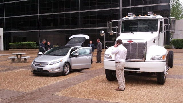 New Electric Vehicle Makes Appearance In Downtown Tulsa