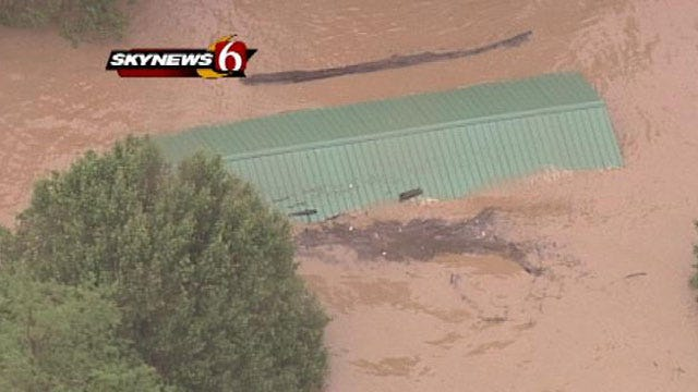 Oklahoma Governor Declares State Of Emergency For Counties Ravaged By Tornadoes, Floods