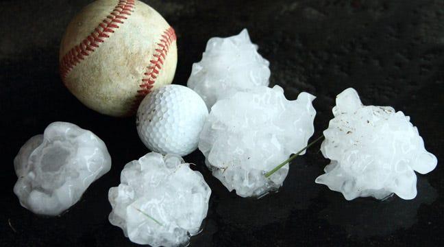 Series Of Hail Storms Pound Eastern Oklahoma