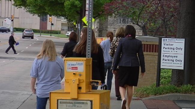 Tulsa Workers Use Lunch Break To Walk It Off