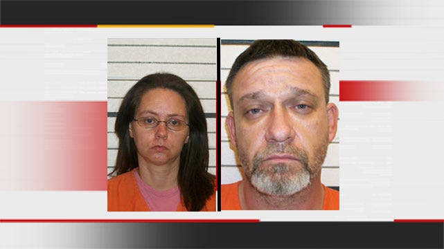 Mannford Parents Accused Of Letting Kids Help Make Meth Appear In Court
