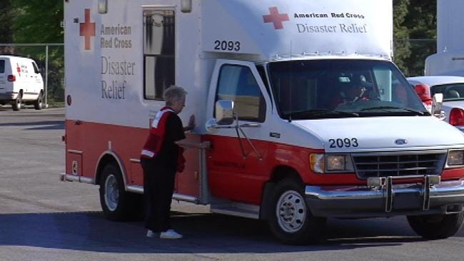 Tulsa Red Cross Volunteers To Serve Meals In Alabama