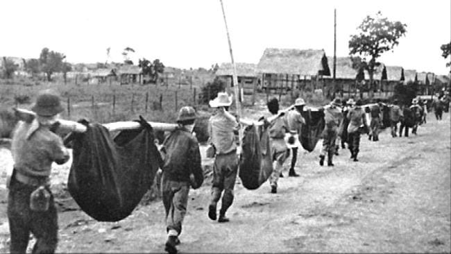 Bristow Airman Marches To Honor World War II POWs