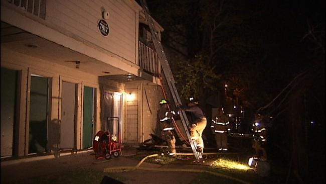 Tulsa Apartment Dwellers Displaced By Structure Fire