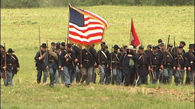 Civil War Reenactment Underway In McIntosh County