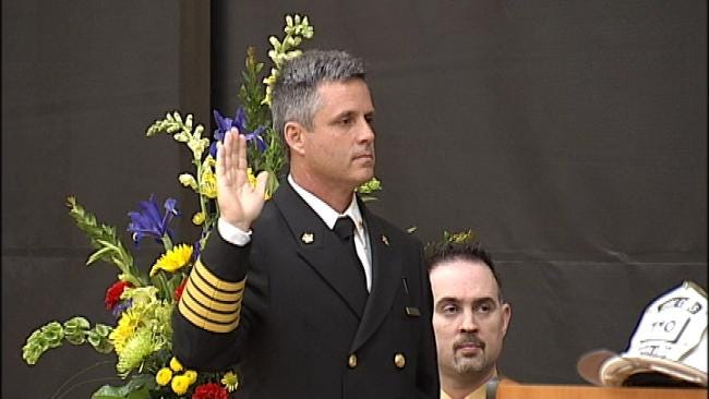 Broken Arrow Names New Fire Chief