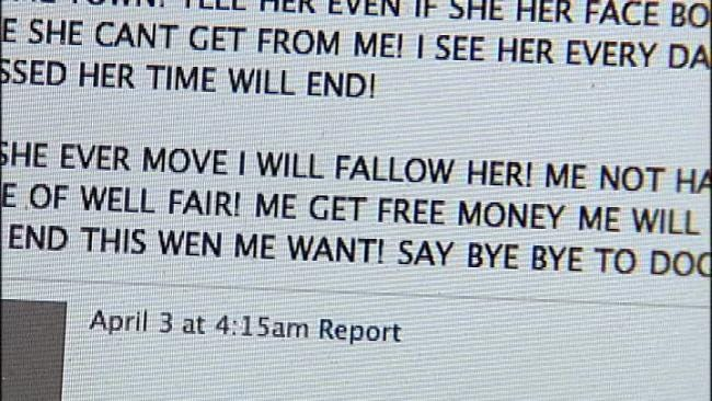 Cyber Stalker Terrorizes Tulsa Woman With Facebook Death Threats